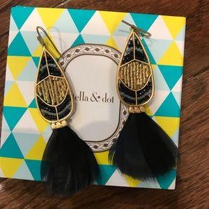 S&D Wisten feather earrings
